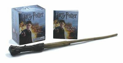 Miniature Editions: Harry Potter Wizard's Wand & Sticker Book (Paperback) New