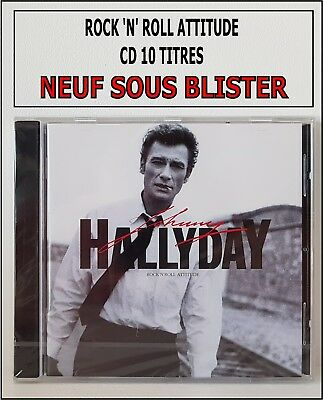 Johnny Hallyday Cd Album Neuf Sous Blister - Rock 'N' Roll Attitude - Rare