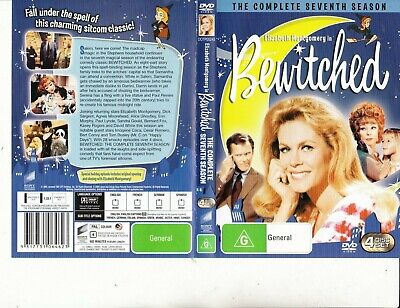 Bewitched-1964-TV Series USA-[The Complete Seventh Season-4 DVD Set]-4 DVD