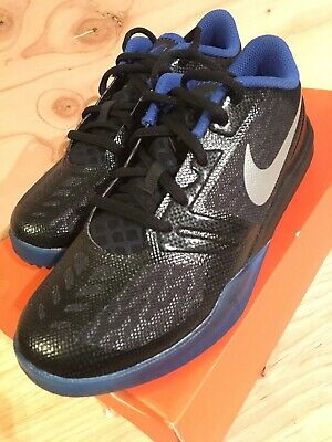 on sale a2cbb 4aad6 Nike KB Mentality GS Size 3Y Lakers Kobe Bryant Black Blue 705387 005 Youth  Lows