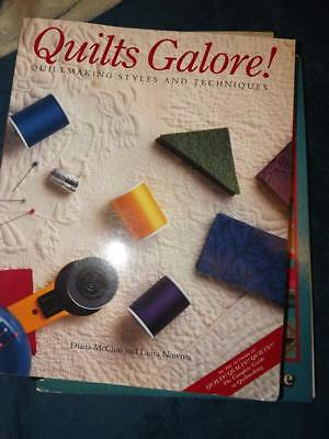Quilts Galore! : Quiltmaking Styles and Techniques by Diana McClun and Laura Now