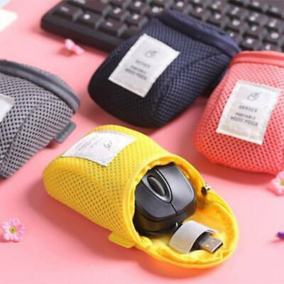 Mouse Case Bag Storage Pouch For Mobile Organizer Phone USB Cable Charger