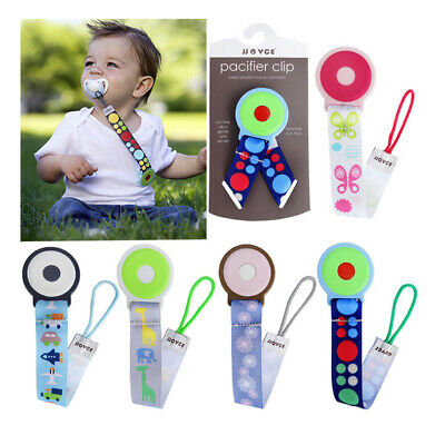 1xBaby Teether Anti Lost Strap Belt Clip Kids Pacifier Toys Fixing Hanging Rope