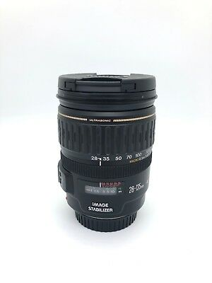 Canon EF 28-135mm F/3.5-5.6 IS USM Lens Macro Full frame C-MOS