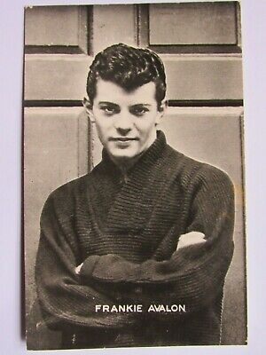 04F59 Carte Postale Photo Star Artiste Chanteur Frankie Avalon Editions P.i