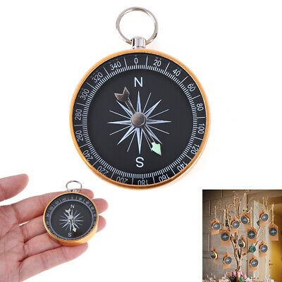 Outdoor Portable pocket Navigation Compass Wild Survival Tool Home Decoration ^S