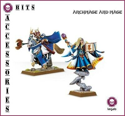 Bits Aelves Archmage And Mage High Elves Warhammer Aos