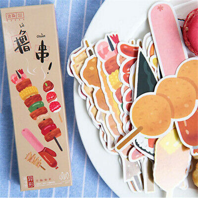 30pcs Cute Different shape food Bookmark Message card Office School Stationery