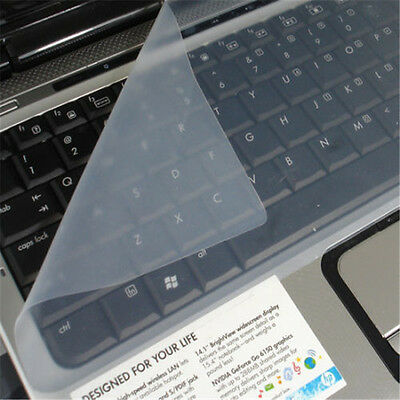 "1pc New Utility Cover Laptop Keyboard Skin Soft Silicone Protector 12.4""X5.31"""