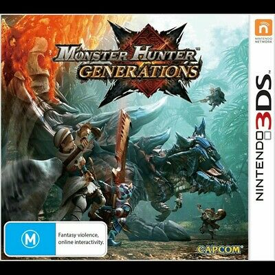 Monster Hunter Generations Nintendo 3DS 2DS New AU - BRAND NEW !