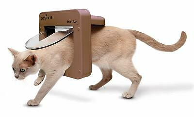 PetSafe Petporte Smart Flap Microchip Cat Door White or Brown
