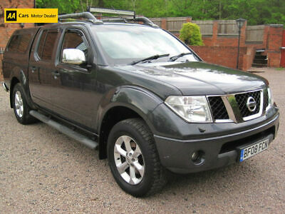 2008 08 Nissan Navara 2.5dCi Long Way Down Double Cab Pick Up Hippo Grey