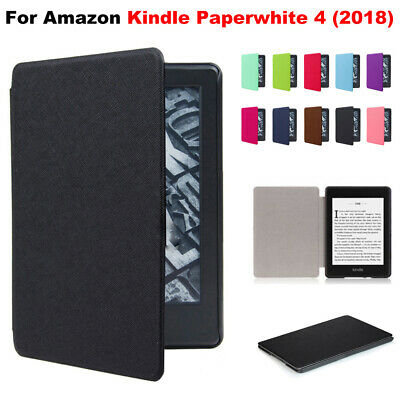 Smart Case PU Leather For 2018 New Amazon Kindle Paperwhite 4 10th Generation