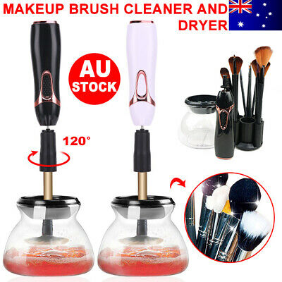 Electric Makeup Brush Cleaner Cosmetic Dry Wash Cleaning Tools Beauty Kits GD