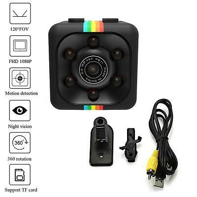 Sq11 Hd Mini Dv Micro Camera Macchina Fotocamera Visione A Luce Full Light