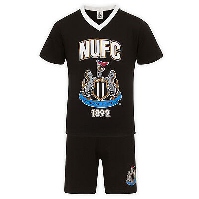 d949db0288 Newcastle United FC Official Football Gift Mens Short Pyjamas Loungewear