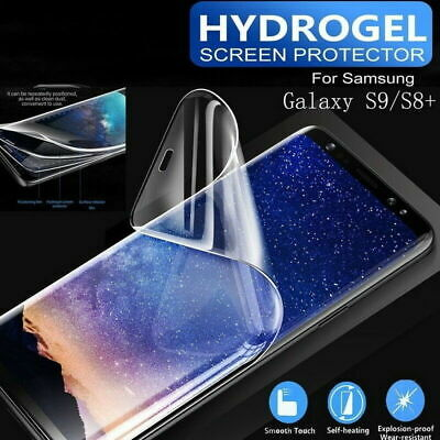 10D Hydrogel Film Full Screen Protector For Samsung Galaxy A9 2018 S9 S10 Plus