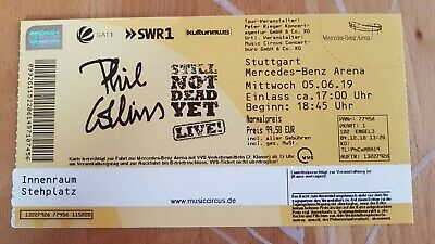 Phil Collins  2 Ticket Stuttgart  5.6. 2019 Innenraum