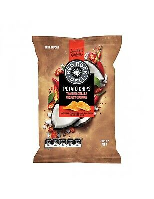 Red Rock Deli Thai Chilli Coco 80g x 12