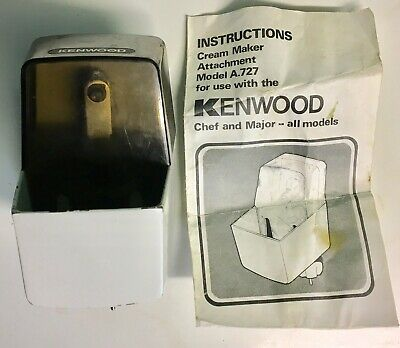 Kenwood Chef Cream Maker Model A727. Fits Chef And Major.
