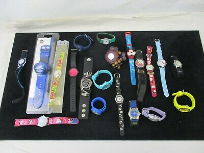 Job Lot of Children's Watches Kahuna Ravel Casio Citron Hello Kitty Frozen