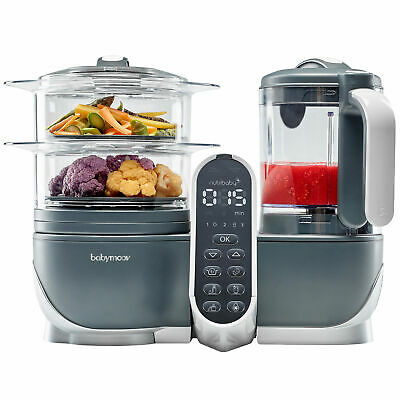 Babymoov Nutribaby+ Food Processor/Steamer