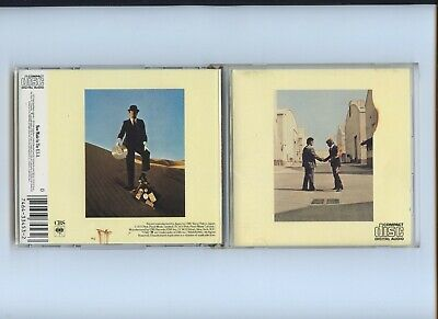Pink Floyd Wish You Were Here Denon USA Crude Matrix CBS CK 33453 CD 1985 1986
