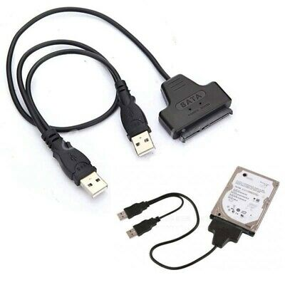 USB2.0 to SATA Cable Hard Drive Converter Adapter Cable For 2.5″SATA and SSD HDD