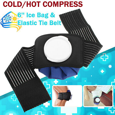 """6"""" Hot Heat Cold Ice Therapy Reusable Bag Pack Knee Shoulder Back Elbow Ankle"""