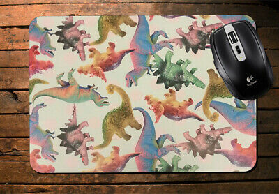 Colourful Children's Dinosaurs Mouse Mat Computer Novelty Boys Fun Animal si36