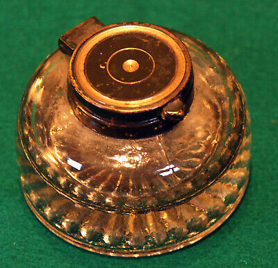 Antique glass collector's inkwell. R210054