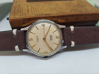 Rare Vintage Smiths Astral Silver Dial Cal:27.Cs Manual Wind Man's Watch