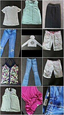Ladies size 8 bundle women's clothes jeans tops shorts ted baker next h&m X 10
