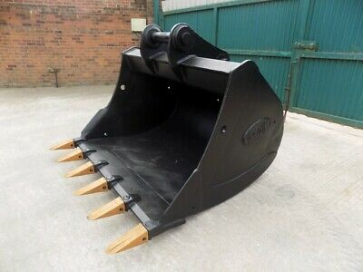 72 Inch /6 Foot Digging Bucket With New Teeth On 100Mm Pins/Free Uk Delivery Inc