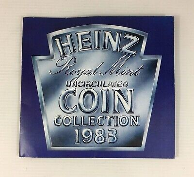 1983 Heinz Royal Mint Uncirculated Coin Collection A/F