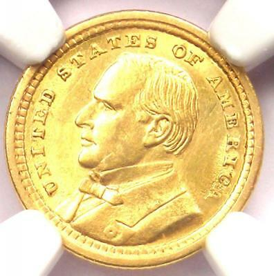 1903 McKinley Louisiana Purchase Gold Dollar Coin G$1 - NGC UNC Detail (MS)!