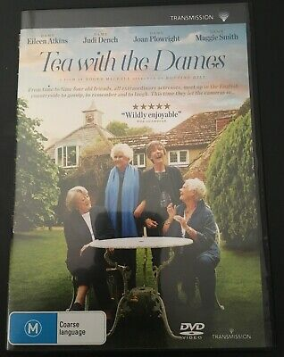 Family Dvd: Tea With The Dames: Dench, Smith, Atkins & Plowright~ Vgc