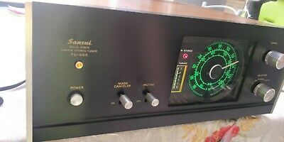 Sansui TU-666 Solid State AM/FM Stereo Tuner (1970-72)