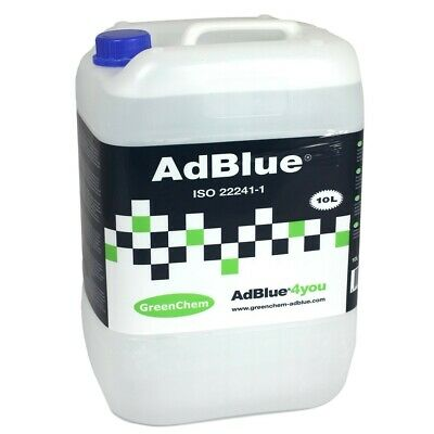 GreenChem AdBlue 10L 10 Litre Universal Ad Blue with Free Filling Pouring Spout