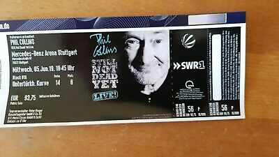 1x Phil Collins Ticket für Stuttgart