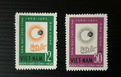 North Vietnam - 1964, Int. Quiet Sun Years set -Perf - Mint no Gum - SG N297/8