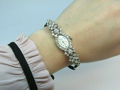 Vintage Hamilton Lady's Wristwatch ,14kt White Gold. Appraisal $ 4,215.00