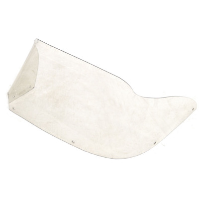Boat Offset Windshield Clear