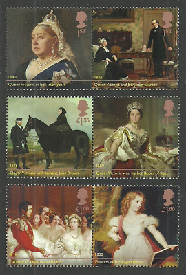 Gb 2019 Royalty Queen Victoria Bicentenary Set Mnh