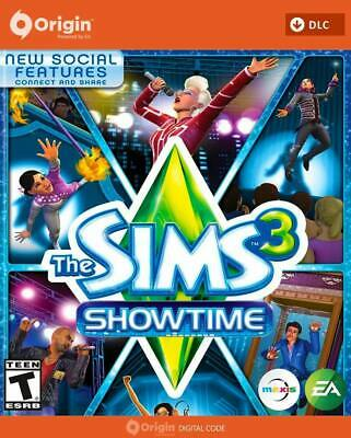 The Sims 3: Showtime,  Expansion Pack PC / MAC , ORIGIN code key