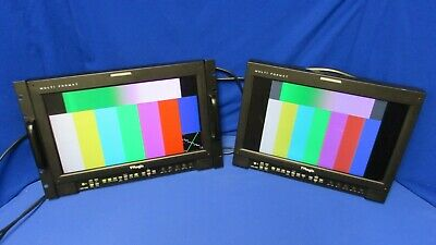 """TV Logic LVM-172W 17"""" Multi-Format LCD Monitor -has scratches"""
