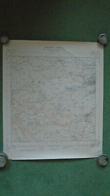 Rare Ordnance Survey Map ST23 Bridgwater W 1967 Enmore North Petherton Spaxton
