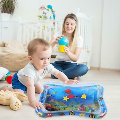 Baby Kids Water Play Mat Inflatable Infants Tummy Time Playmat Toy Gifts