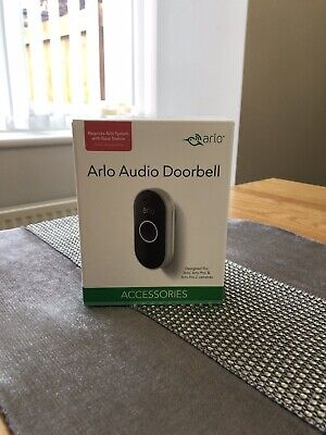 Arlo Audio Doorbell - Wire-free, Smart Home Security and Weather-resistant