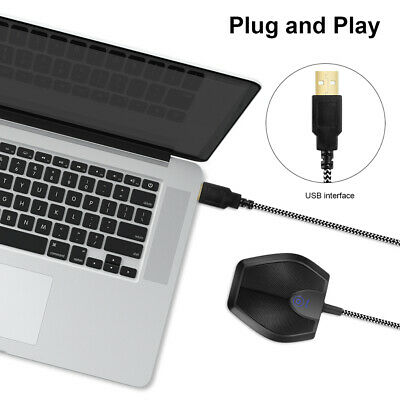 USB Desktop Omnidirectional Condenser Microphone for Conference Teaching TH1131